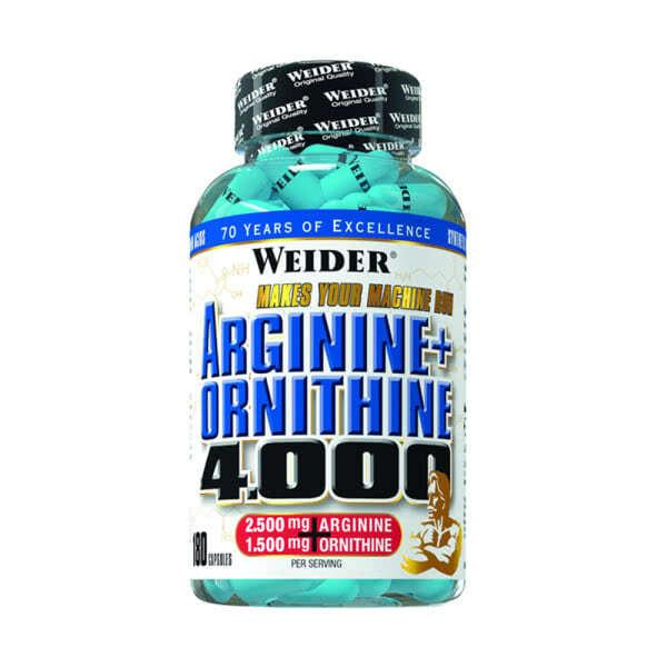 180-capsule-l-arginine-arginine-ornithine-4000-weider.ro