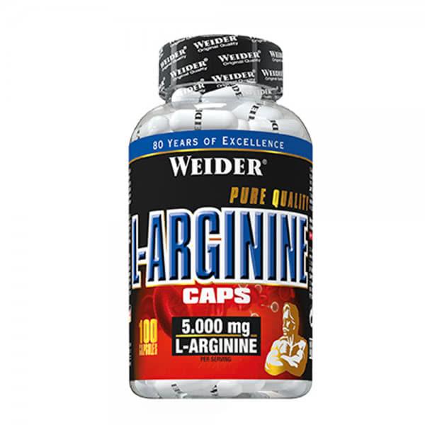 CAPSULE-L-ARGININE-WEIDER-100-CAPSULE-5000MG-L-ARGININA. GLOBAL LINE