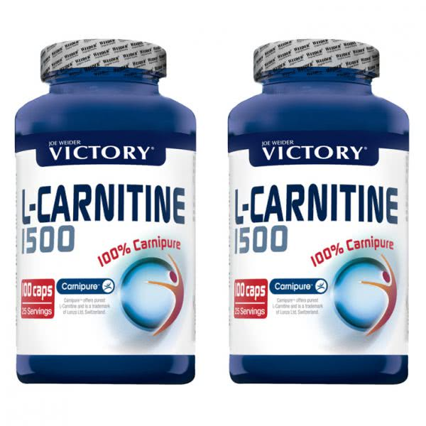 L-Carnitine Pack Duo 2x100 capsule