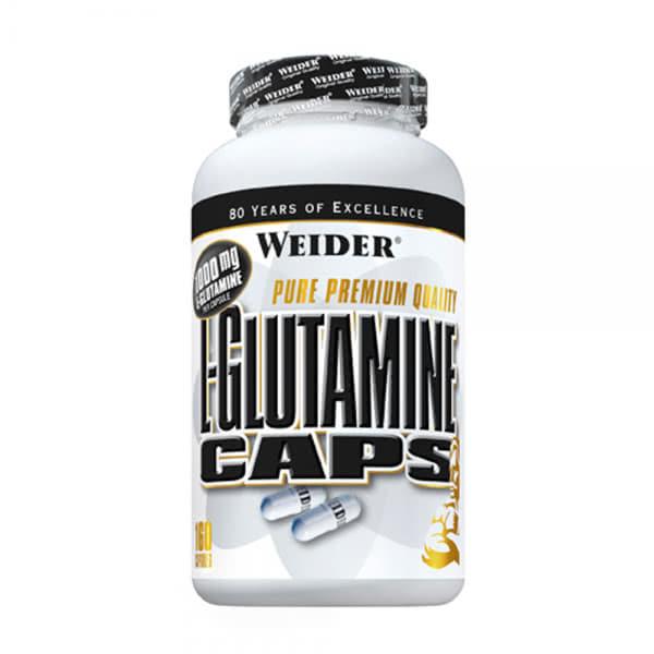 L-GLUTAMINE-CAPS-WEIDER-160-CAPSULE