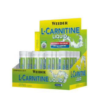 L-Carnitine Liquid 20 fiole