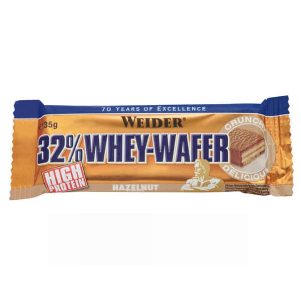 32% whey wafer bar