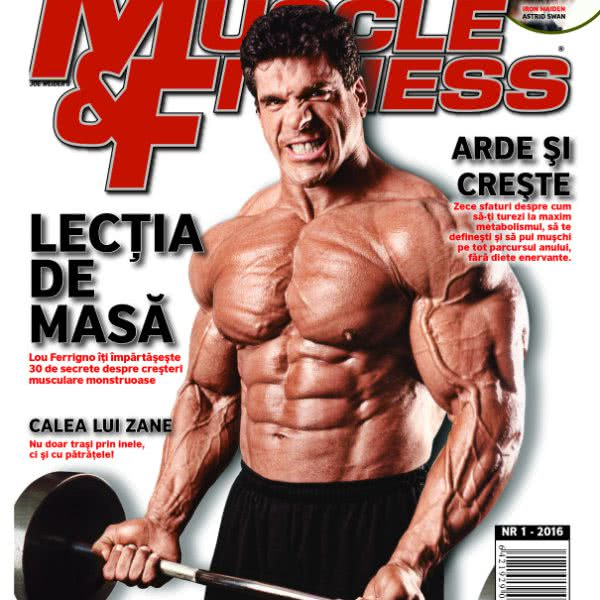 Muscle & Fitness Nr.1 2016