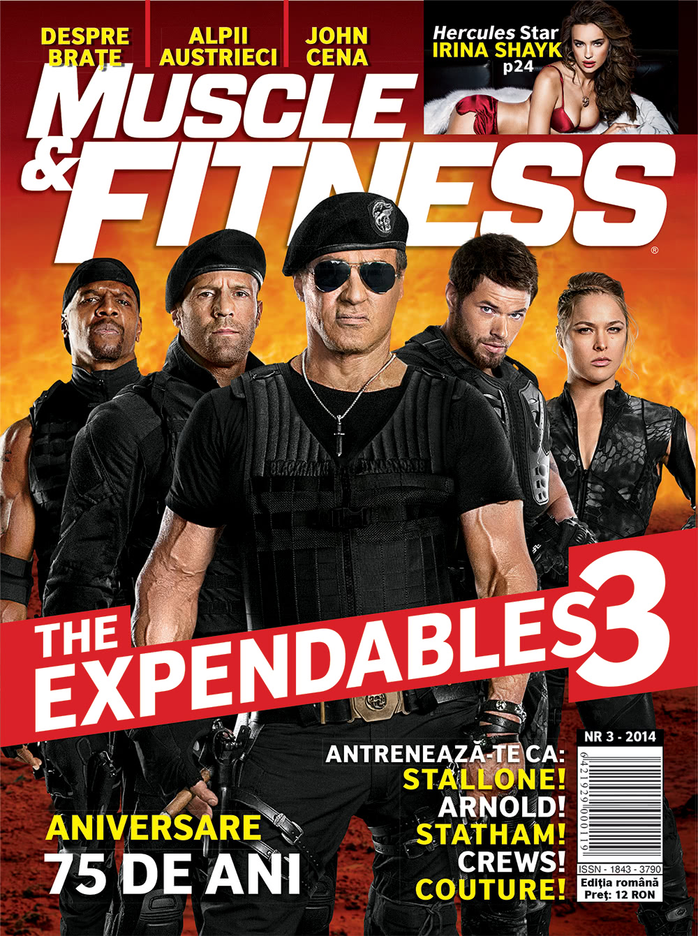 Muscle & Fitness Nr.3 2014