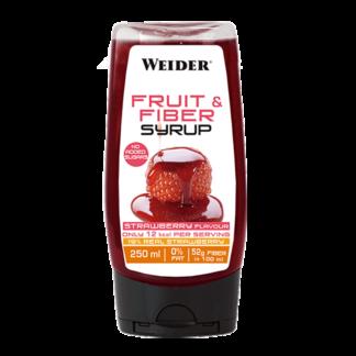 Fruit&Fiber Syrup 250ML Strawberry