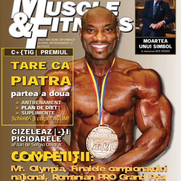 Muscle & Fitness Nr.1 2009