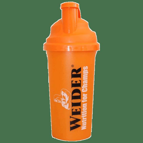 Shaker clasic Weider Portocaliu