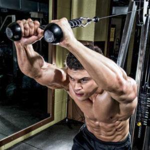 Extensii pentru triceps cu franghia